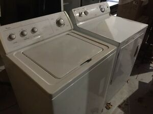 Almost new washer and dryer