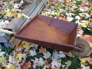 Antique childs wheelbarrow