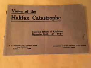 Halifax Catastrophe/Views of Explosion 1917