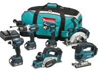 Makita 18v 5ah 6 piece kit.