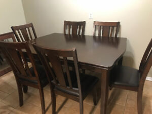 Dining-Kitchen Table Dark wood