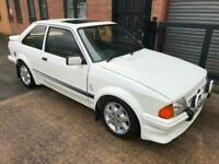1985 C FORD ESCORT RS TURBO SERIES 1 CUSTOM - SOME HISTORY - PRICED TO SELL