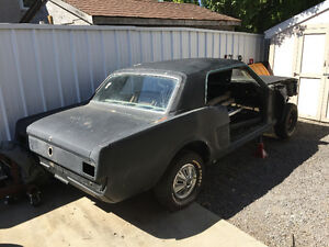 1966 Ford Mustang Project Car