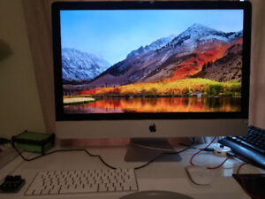 "late 2015 iMac 5k 27"" i5-6500 8GB ram w/original packaging"