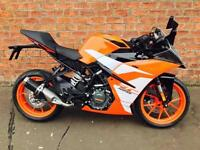 2017 KTM RC 125 learner legal ready to race for only £19.36 a week