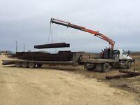 Picker Truck , Crane , For Hire !!