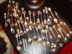 SILVER COLLECTABLE SPOONS