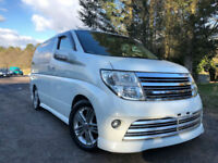 FRESH IMPORT 54 PLATE FACE LIFT NISSAN ELGRAND RIDER AUTEC V6 BOSE SOUND