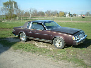 For sale 1986 Buick Regal