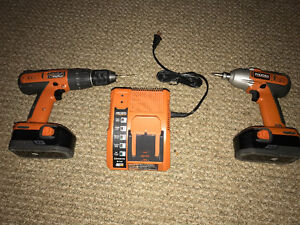 RIDGID 18-Volt Cordless Lithium-Ion 1/2 in. Compact Drill/Driver