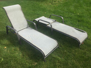 Lawn / lounging chairs / Chaise longue