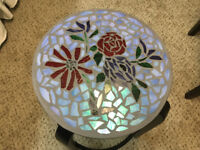 Glass Mosaic side tables.     $75.  Each