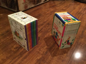 Baby Einstein collection of books and Winnie the Pooh books