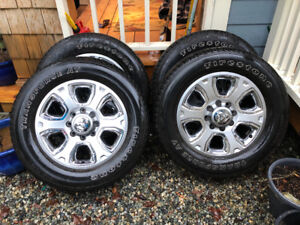 2016 Dodge Ram 3500 rims and tires
