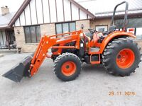 Kioti DK55 Tractor with Self Leveling Loader