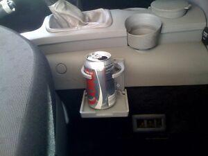 TAN:BEIGE / VW New Beetle folding Drink Cup holder upgrade 1998-2006 Looks stock