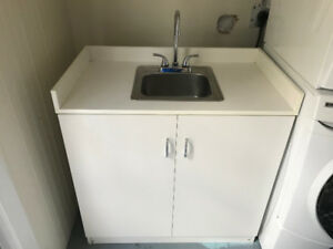 Laundry/Bar Sink Vanity - Never Used
