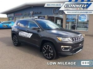 2017 Jeep Compass Limited  - Leather Seats -  Bluetooth - $176.6