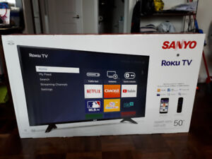 "50"" Sanyo Roku Smart TV"