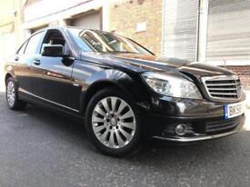 Mercedes-Benz C Class 2009 2.1 C200 CDI Elegance 4 door HUGE SPEC, 1 OWNER