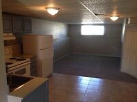 2 bedroom basement apartment. Utilities included