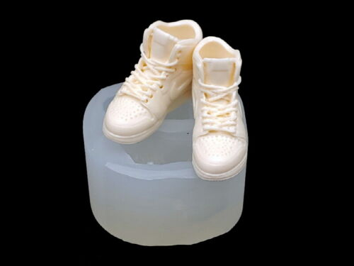 Sneakers Air, Silicone Mold Candle Chocolate Polymer Clay Jewelry Soap Wax