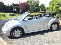 VOLKSWAGEN BEETLE CABRIOLET CONVERTIBLE ONLY 33000 MILES