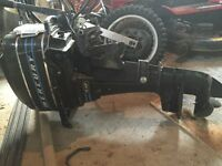 Mercury 7.5hp outboard motor for sale