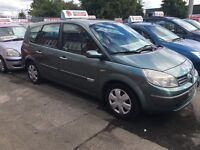 05 Renault grand scenic 1.6 7 seater low mileage