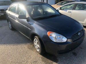 2010 Hyundai Accent auto cert 2900$pls tax