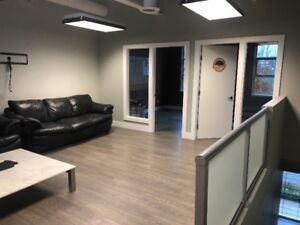 Brand new 730 sq. ft. office space on Byrne Rd for sublease