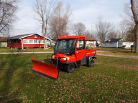 kubota rtv 900 with plow