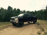 Lifted Chevy duramax