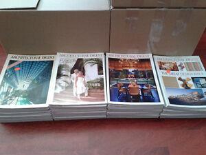 50+ Architectural Digest magazines
