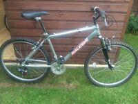 Raleigh mustang aluminium mountain bike