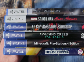 Selection of PS4 and PS5 Games Joblot
