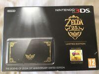 Rare limited edition Zelda 3ds