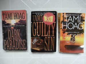 TAMI HOAG's Novels: (Grouped Set of Three)