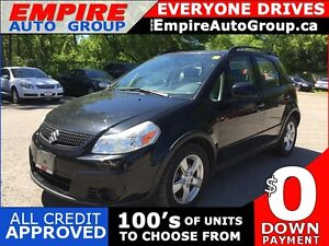 2010 SUZUKI SX4 CROSSOVER * AWD * LOW KM * MINT CONDITION