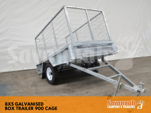 8x5 Galvanised Box Trailer with 900 Cage Edmonton Cairns City Preview
