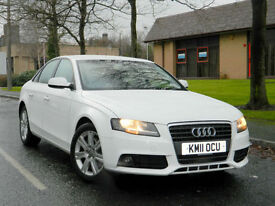 2011 11 Audi A4 2.7 TDI SE Multitronic 4dr WITH FSH+CRUISE+PARKING SENSORS+DRL
