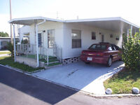 Beautiful Double Wide Mobile Home for Sale in St. Petersburg FL