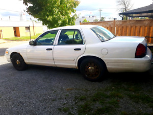 2009 crown victoria ex police interceptor
