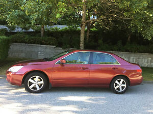 Fully loaded 2005 Honda Accord, 1 owner, well maintained
