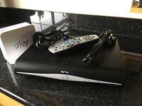 Sky+hd Box 2tb, remote and wifi hub