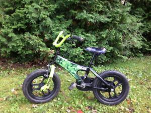 """Kids 14"""" Bicycle - Ninja"""