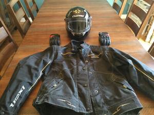 Vêtements de motos  unisexe (300$ l'ensemble) ou séparé