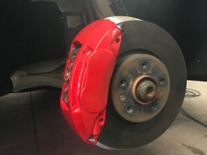 PROFESSIONAL CALIPERS & BRAKES PAINTING! $100 FOR ALL!