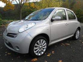07/07 NISSAN MICRA ACTIVE LUXURY 1.4 AUTOMATIC 5DR HATCH IN MET SILVER