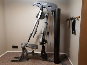 Lamar LS60 Home Gym (200lb upgraded weight stack)